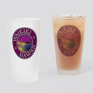 Waikiki Drinking Glass