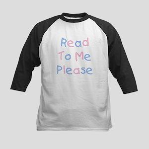 Read to Me Kids Baseball Jersey