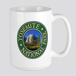 Yosemite - Design 1 Large Mug