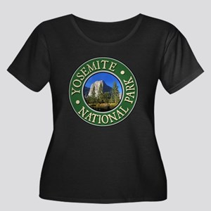 Yosemite - Design 1 Women's Plus Size Scoop Neck D