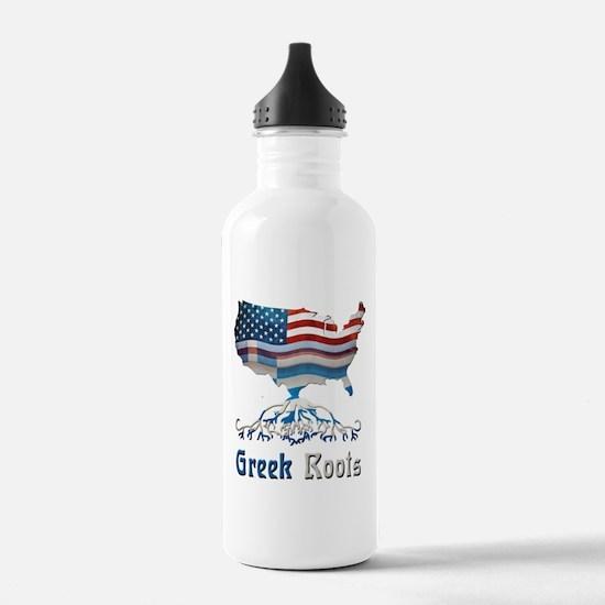 American Greek Roots Water Bottle