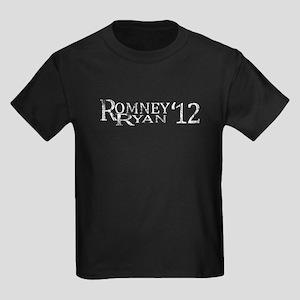 Romney Ryan 2012 Distressed T-shirt Vintage Kids D