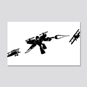 Iron Suit Attack!! 20x12 Wall Decal