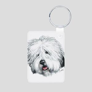 Sweet Sheepie Aluminum Photo Keychain