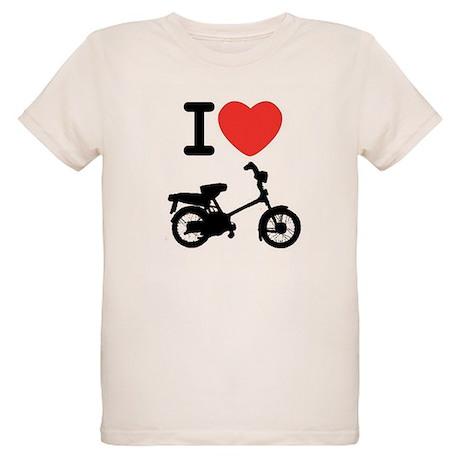 I Heart Mopeds Organic Kids T-Shirt