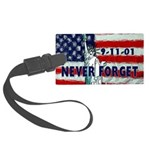 911 Never Forget Large Luggage Tag