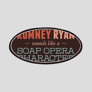 Romney Ryan Soap Opera Patches