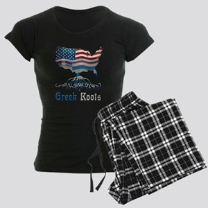 American Greek Roots Women's Dark Pajamas