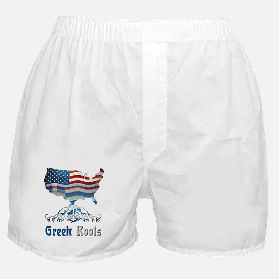 American Greek Roots Boxer Shorts