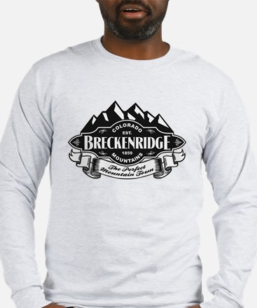 Breckenridge Mountain Emblem Long Sleeve T-Shirt