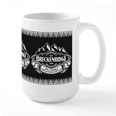 Breckenridge Mountain Emblem Large Mug