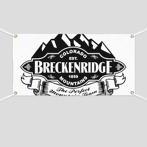 Breckenridge Mountain Emblem Banner