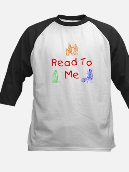 Read-Storybook Kids Baseball Jersey
