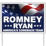 Romney Ryan Yard Sign