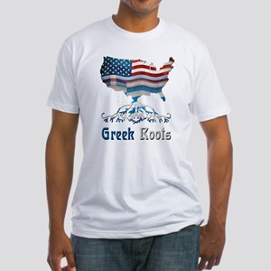 American Greek Roots Fitted T-Shirt