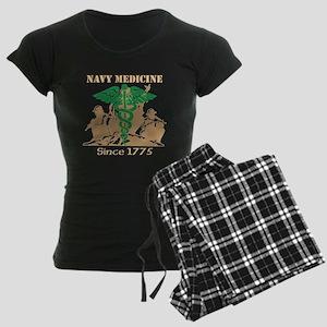 Navy Medicine Green/Coyote Women's Dark Pajamas