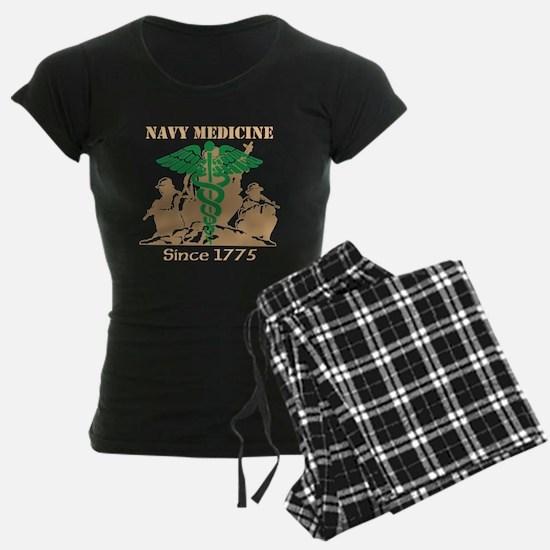 Navy Medicine Green/Coyote Pajamas