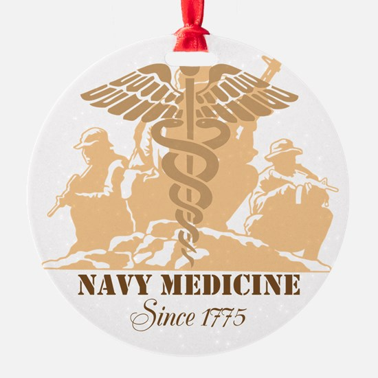 Navy Medicine Since 1775 Ornament