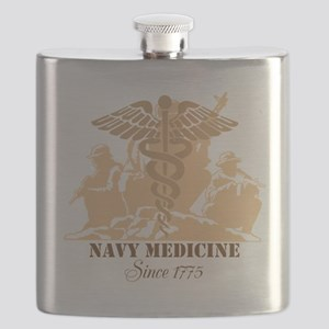 Navy Medicine Since 1775 Flask