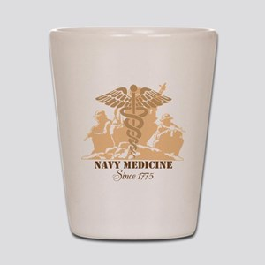 Navy Medicine Since 1775 Shot Glass