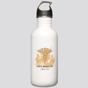 Navy Medicine Since 1775 Stainless Water Bottle 1.