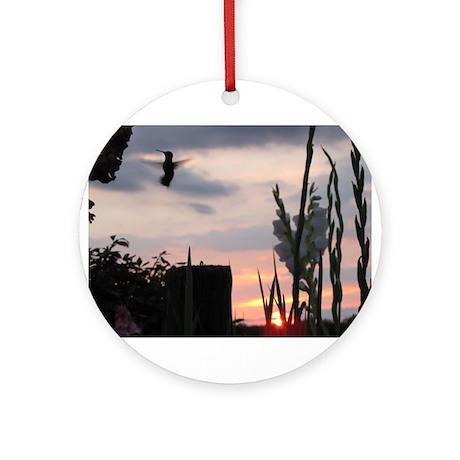 Hummer Angel Ornament (Round)