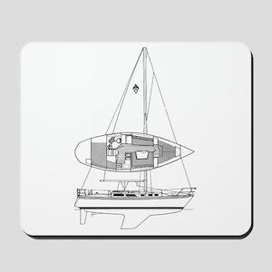 Catalina 34 Mousepad