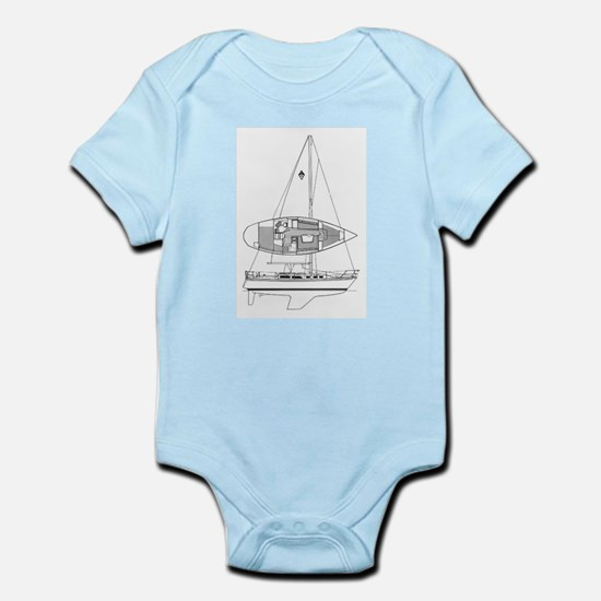 Catalina 34 Infant Bodysuit