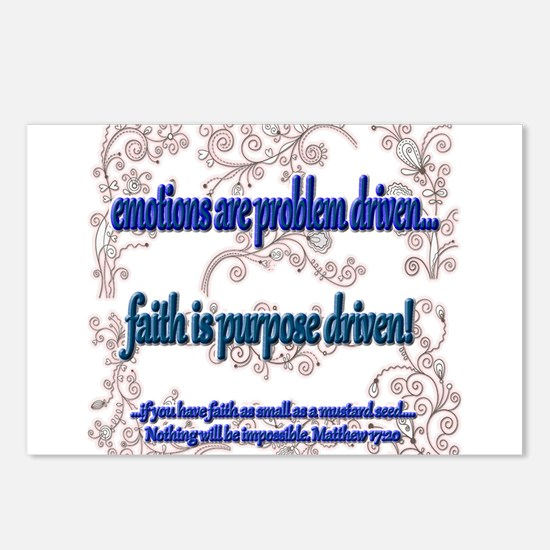 Driven Postcards (Package of 8)