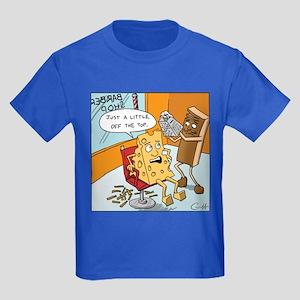"""""""Little off the Top"""" Kids Dark T-Shirt"""