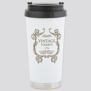 Vintage Tomboy 1776 Stainless Steel Travel Mug