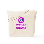 Women for Obama Pink Tote Bag