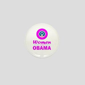 Women for Obama Pink Mini Button