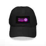 Women for Obama Pink Black Cap