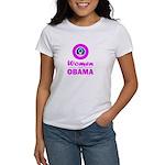 Women for Obama Pink Women's T-Shirt
