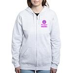 Women for Obama Pink Women's Zip Hoodie