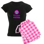 Women for Obama Pink Women's Dark Pajamas