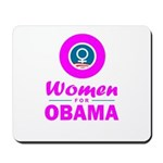 Women for Obama Pink Mousepad