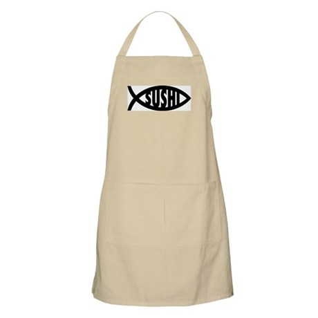 Sushi Fish Symbol BBQ Apron