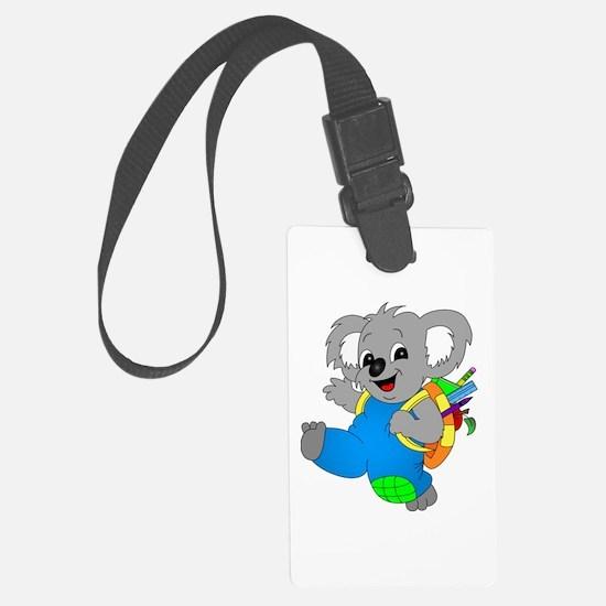 Koala Bear with backpack Luggage Tag
