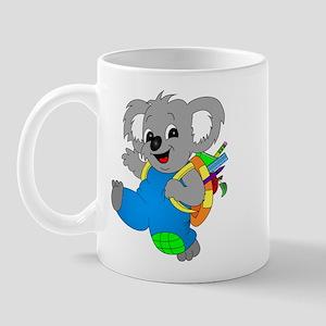 Koala Bear with backpack Mug