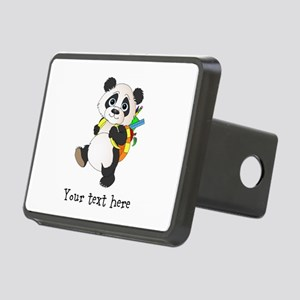 Personalize It - Panda Bear backpack Rectangular H