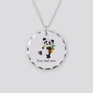 Personalize It - Panda Bear backpack Necklace Circ