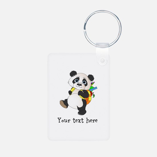 Personalize It - Panda Bear backpack Keychains