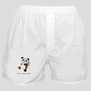 Personalize It - Panda Bear backpack Boxer Shorts