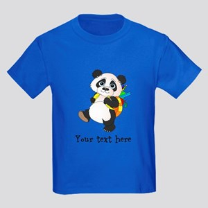 Personalize It - Panda Bear backpack Kids Dark T-S