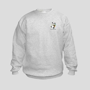 Personalize It - Panda Bear backpack Kids Sweatshi