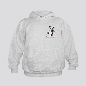 Personalize It - Panda Bear backpack Kids Hoodie