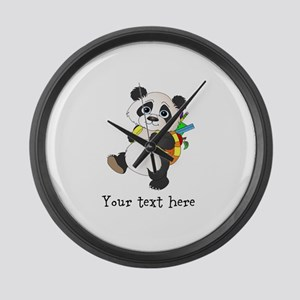 Personalize It - Panda Bear backpack Large Wall Cl
