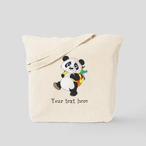 Personalize It - Panda Bear backpack Tote Bag